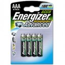 ENERGIZER AAA RECHARGEABLES 1000 Mah